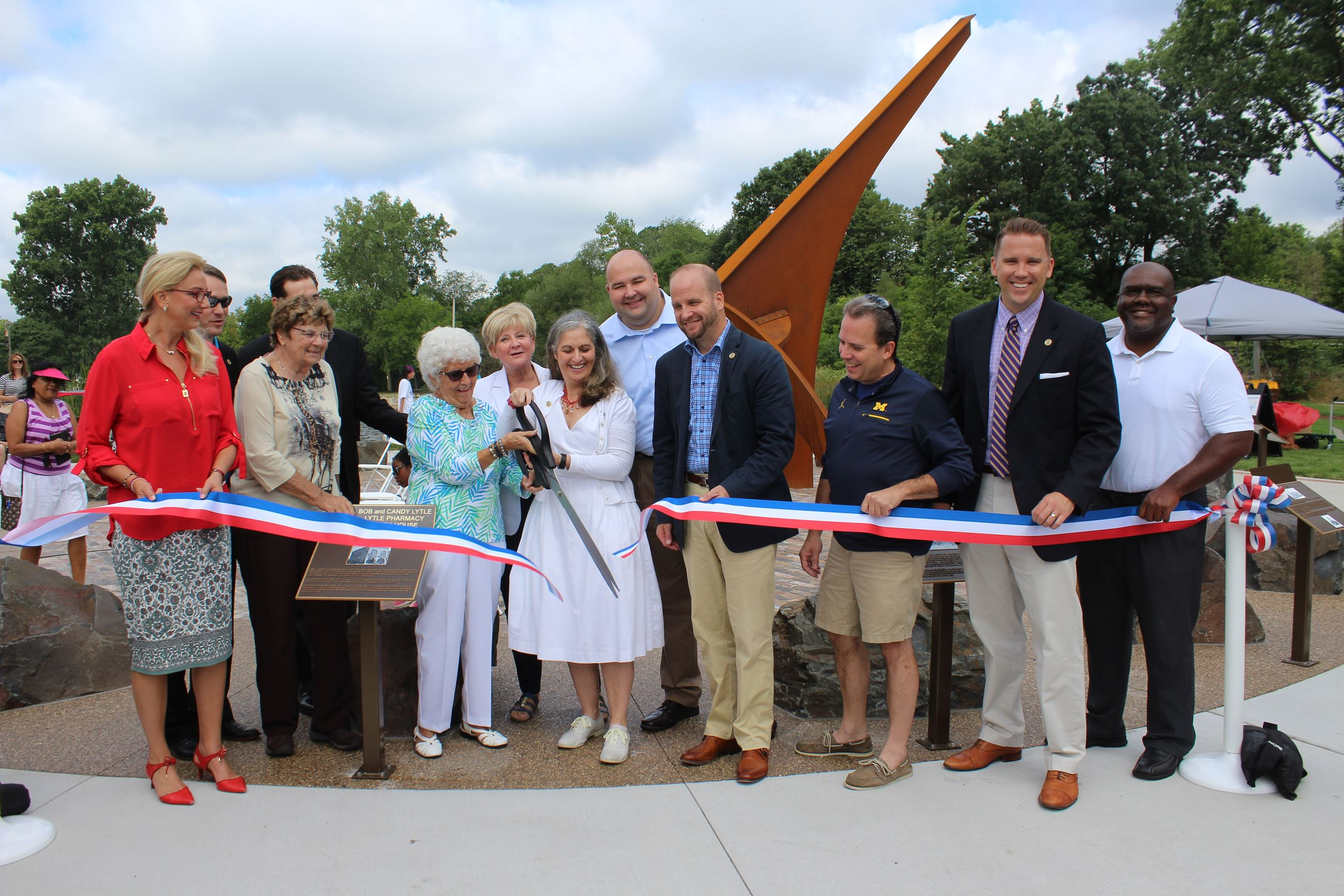 Sundial Dedication Photo