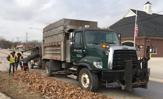 DPW leaf collection