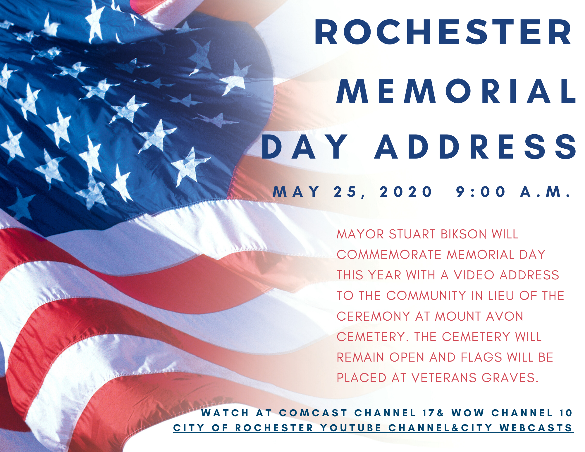 Memorial Day Address